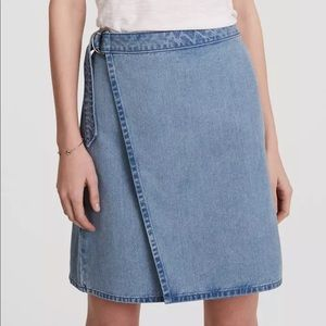 Ann Taylor aloft | Wrap Denim Skirt | Sz 0 | NWOT